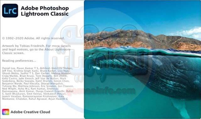 تحميل برنامج فوتوشوب لايت روم كلاسيك | Adobe Photoshop Lightroom Classic CC 2020 v9.4.0.10