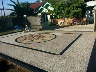 Jasa Tukang Batu Koral Sikat Di Surabaya