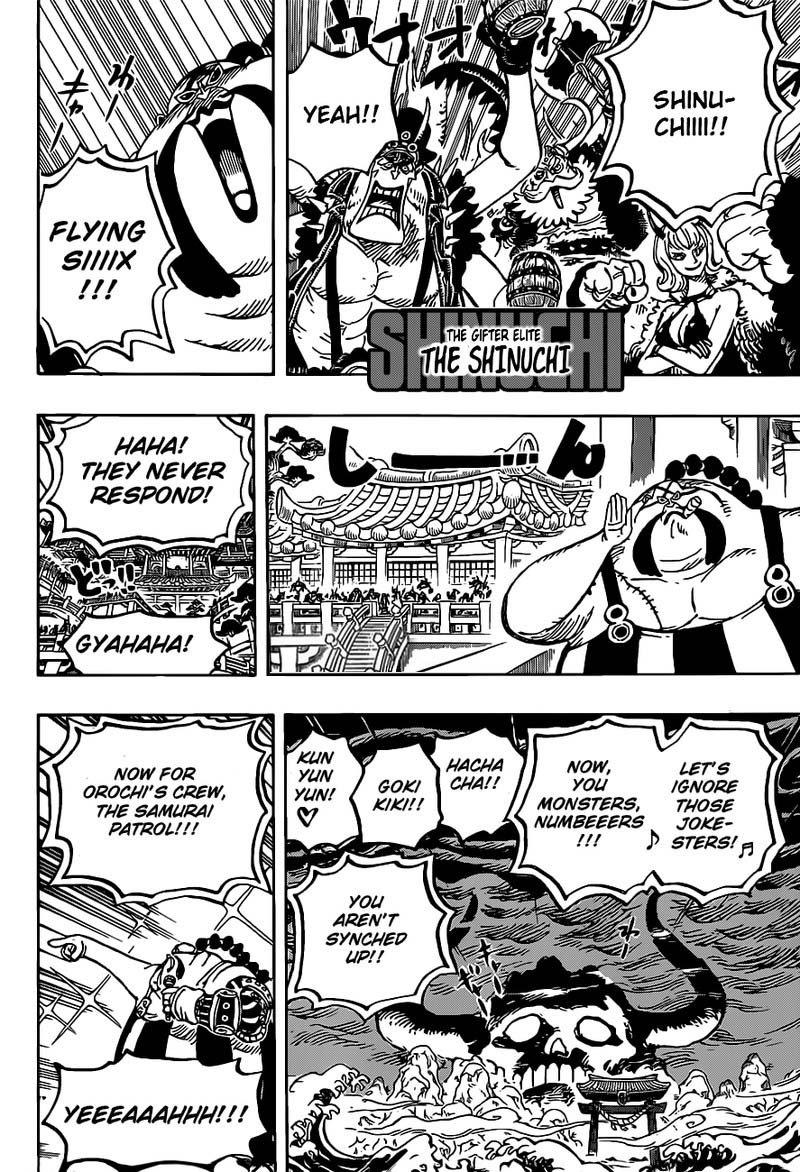 One Piece Manga Chapter 978 - Image 013