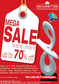 Decorettes Mega Sales 2016