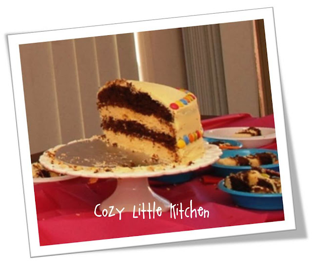 Ganache Troubleshooting Guide Table: Cozy Little Kitchen!: I Baked My Baby's First Birthday Cake