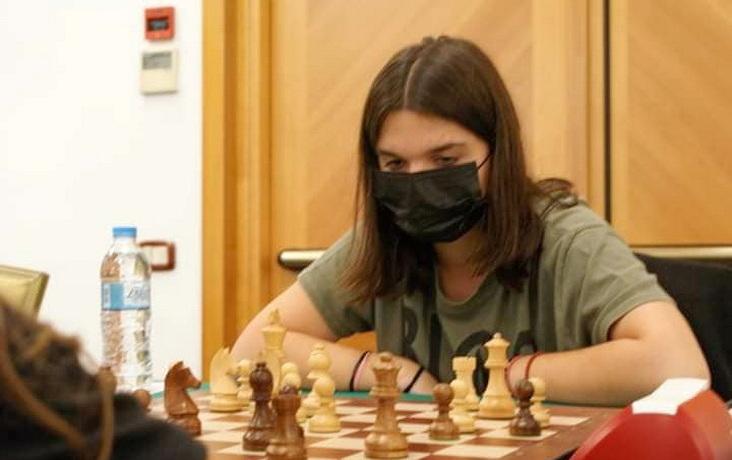 Πανελληνιονίκης στο Σκάκι στέφθηκε η Άρτεμις Μπλίτσα του Εθνικού Αλεξανδρούπολης