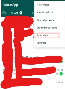 Whatsapp se payment kaise kare