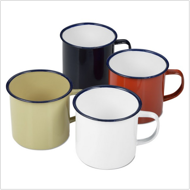 Tin Coffee Mugs;Small Tin Coffee Mugs;