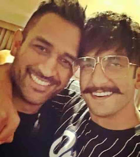 Ranveer Singh With MS Dhoni