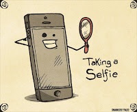 selfie cartoon – Brainless Tales.Indianlink