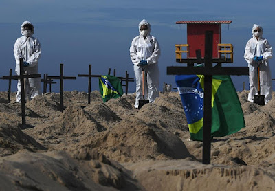The dig was organized by activists part of the Brazilian NGO Rio de Paz, or Peace Rio in English.