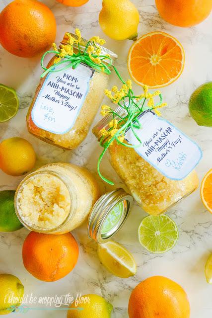 citrus sugar scrub recipe