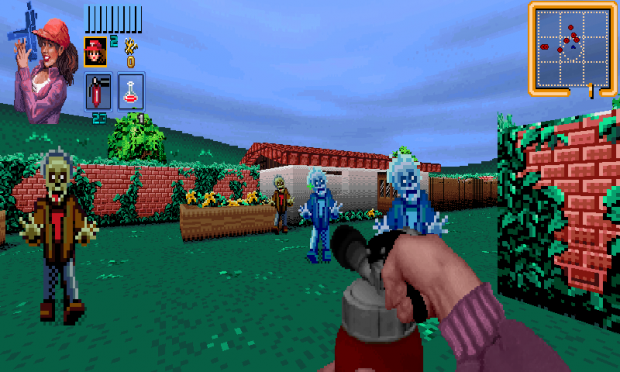 Zombies Ate My Neighbors (DOOM mod)