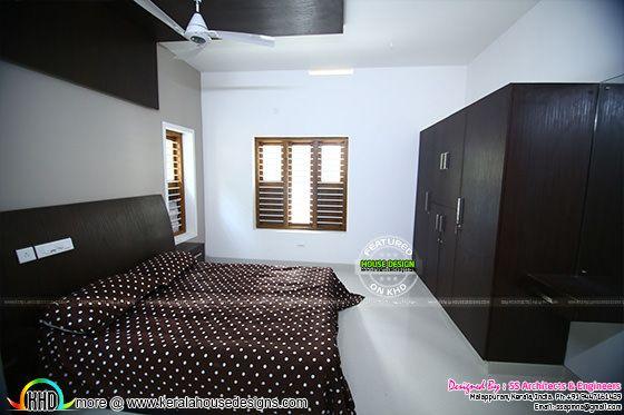 Bedroom 2 furnished interior
