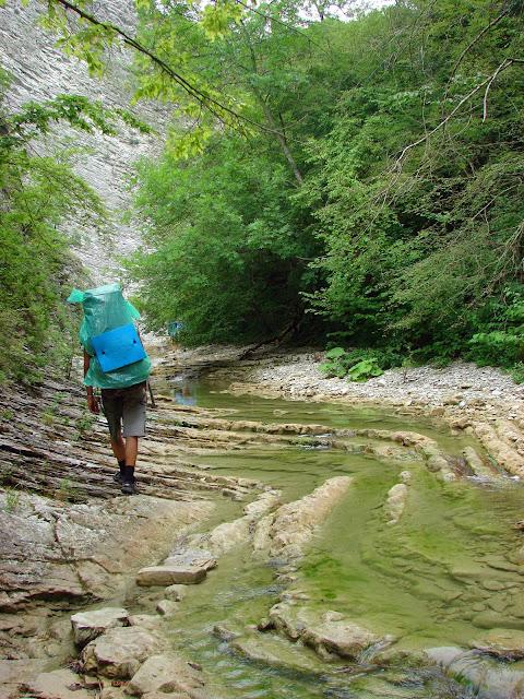 Щель Плесецкие водопады