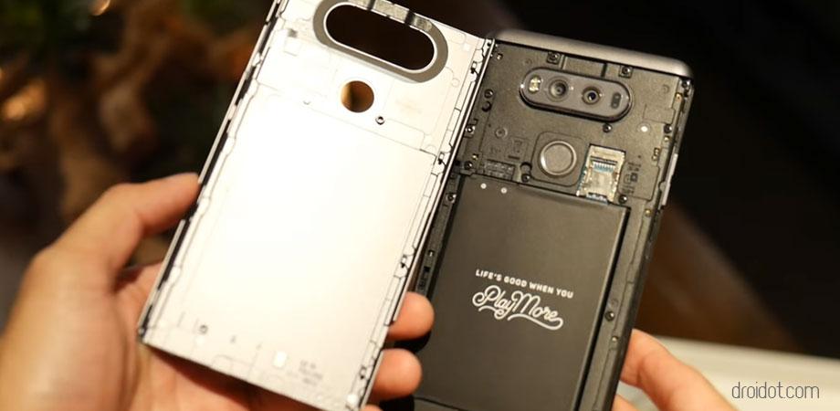 Mengintip Harga dan Spesifikasi Lengkap LG V20