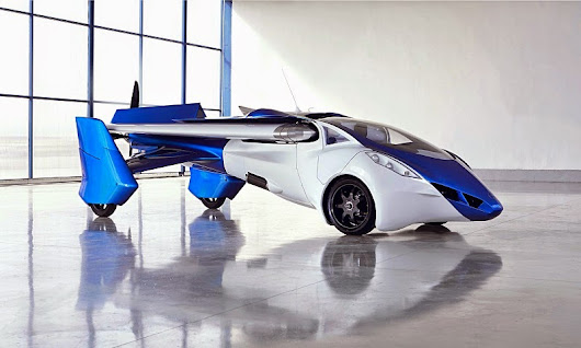 AeroMobil Bringing Flying Car by 2017