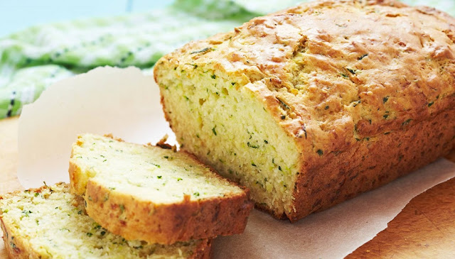 Sweet and spicy zucchini bread