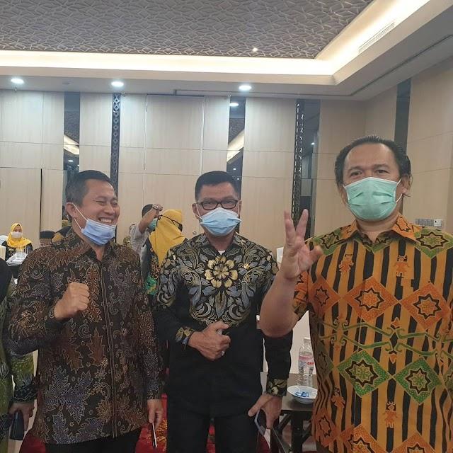 Wakil Ketua DPRD Lampung Buka Bimtek Soal Penyusunan APBD TA 2021