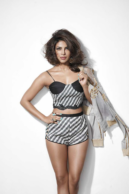 Priyanka Chopra Hot Photo Shoot for Cosmopolitan Magazine HD Photos