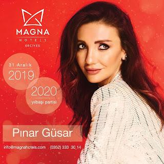 Magna Hotels Erciyes Kayseri Yılbaşı Programı 2020 Menüsü