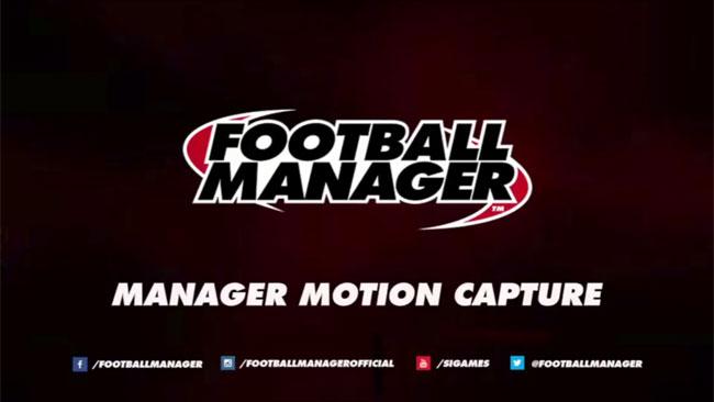 fm16 feature: manager motion capture