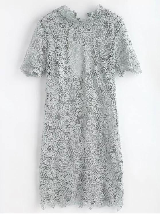 Vestido de renda da Zaful