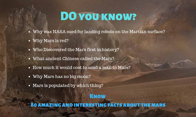 80 amazing and interesting facts about Mars
