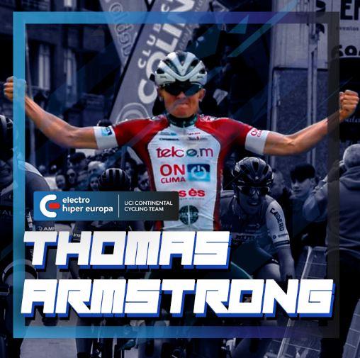 El británico Tom Armstrong correrá en las filas del Electro Hiper Europa continental