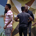 #BBNaija; Ik Osakioduwa visits housemates, see how he made his entrance (Photos/Video)