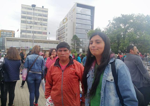 Resisten: vendedores ambulantes se instalan en Plaza de Armas de Osorno