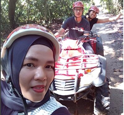 sewa ATV bintan lagoon resort, bintan lagoon resort, cara ke bintan lagoon resort, lagoi , ruziana, unizara, blogger tanjungpinang