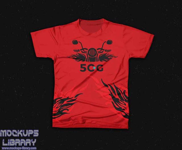 creative t shirt mockup
