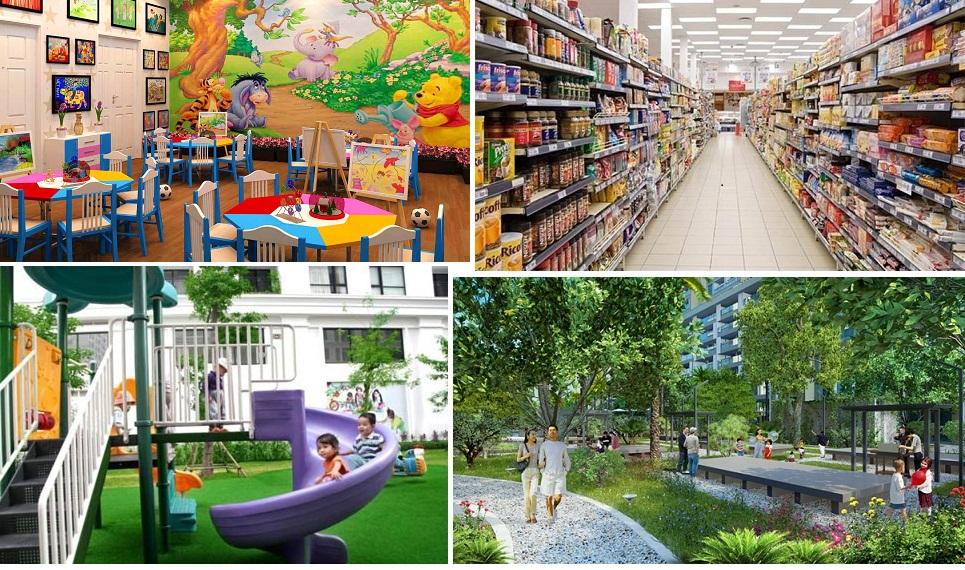 Hệ thống tiện ích đẳng cấp tại dự án chung cư Vinhomes Smart City Nguyễn Trãi