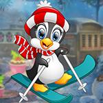 Play Games4King - G4K Ski Penguin Escape