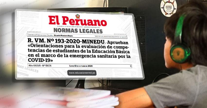 MINEDU: Escolares que cursaron educación remota podrán ser matriculados al grado siguiente en el 2021