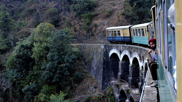 All aboard India's joyful 'toy train'