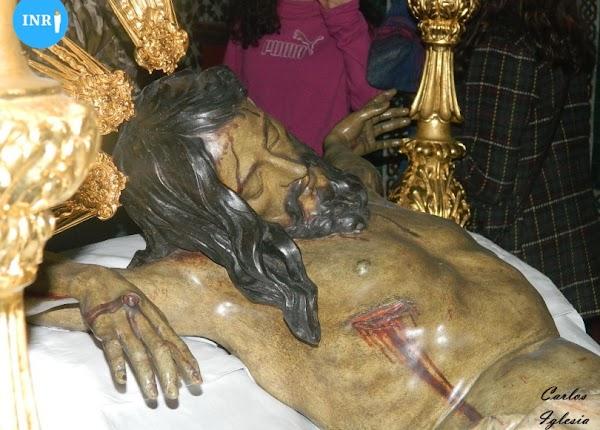 El Cristo del Sagrado Descendimiento de la Quinta Angustia de Dos Hermanas será finalmente restaurado