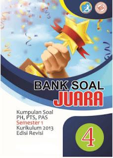 Unduh Bank Soal Kelas  4 SD/MI, Berisi Kisi-kisi dan Ribuan Soal