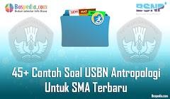 Lengkap - 45+ Contoh Soal USBN Antropologi Untuk SMA Terbaru 2019/2020