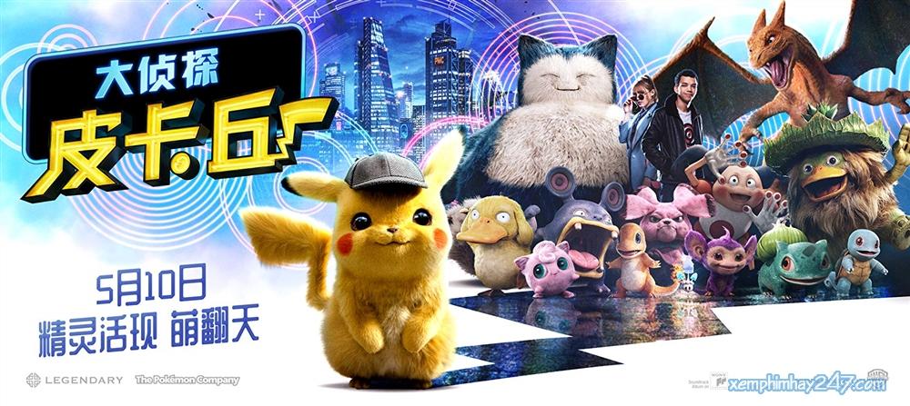 http://xemphimhay247.com - Xem phim hay 247 - Pokémon: Thám Tử Pikachu (2019) - Pokémon: Detective Pikachu (2019)