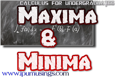 BCA/MCA/BTech- Maths (Differential Equations)  Maxima and Minima  (Q and A)(#ipumusings)