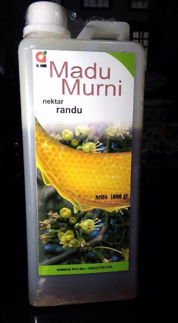 Madu Murni Nektar Randu 1 kg (1000 gram)