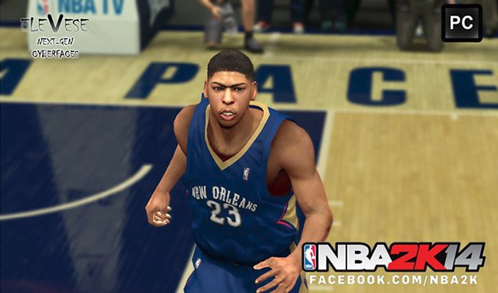 NBA2K Anthony Davis