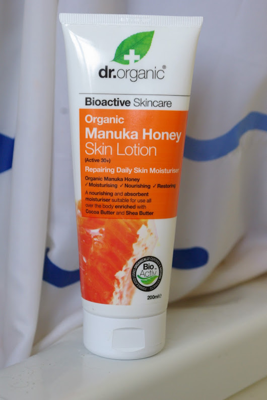 Dr Organic Manuka Honey Skin Lotion Review