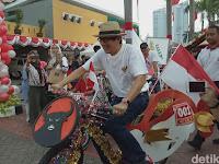Yasona Laoly Hias Sepeda Dari Jokowi, Begini Penampakannya