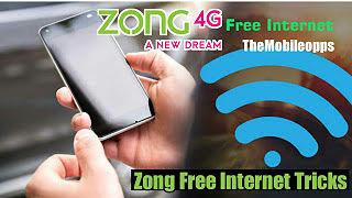 zong free internet proxy 2020
