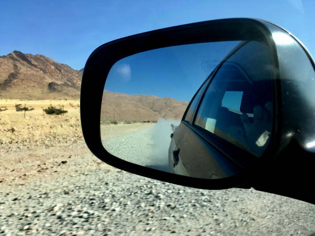 Caminos de tierra de Namibia