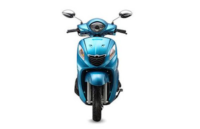 Yamaha Fascino scooter front look HD image