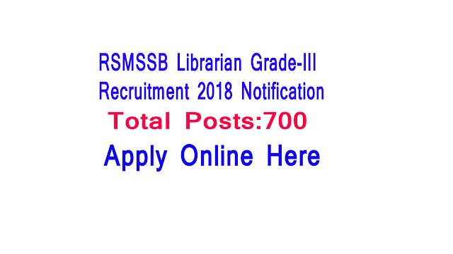RSMSSB Librarian Grade III