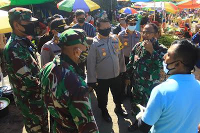 Kapolresta Mataram Sidak ke Pasar Kebon Roek