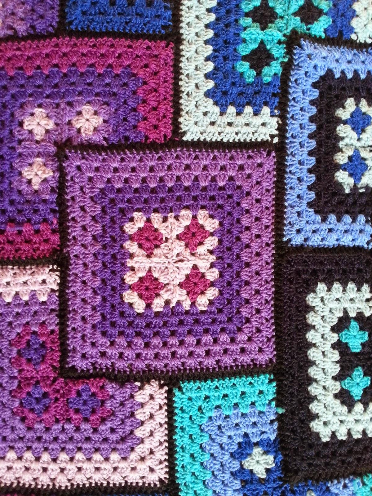 h kelfieber patchwork granny decke. Black Bedroom Furniture Sets. Home Design Ideas