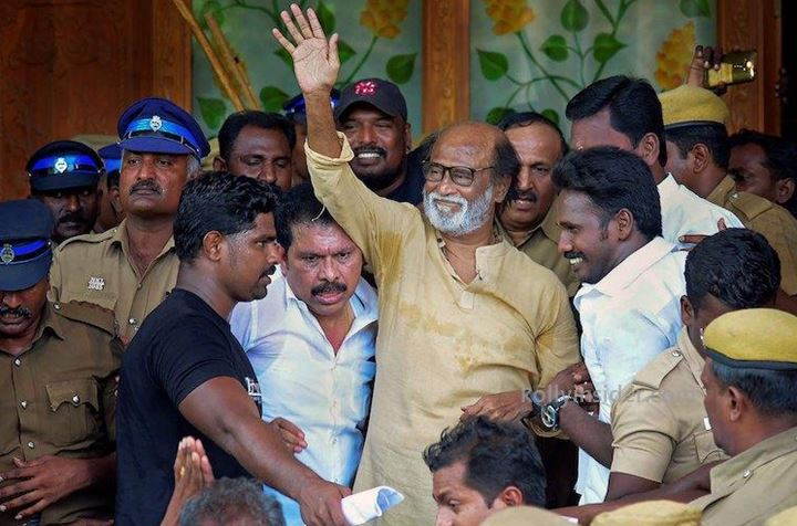 Superstar Rajinikanth backs out from political entry citing health issues