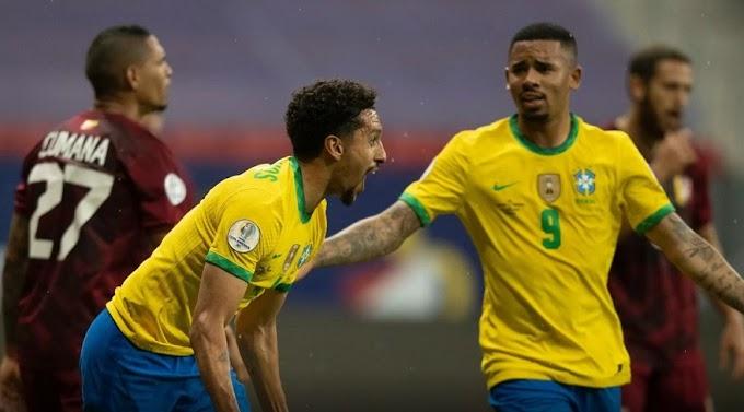 Brasil abre Copa América e vence desfalcada Venezuela por 2 a 0